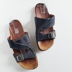 Timberland Smart Comfort Navy Leather Sandals 10M